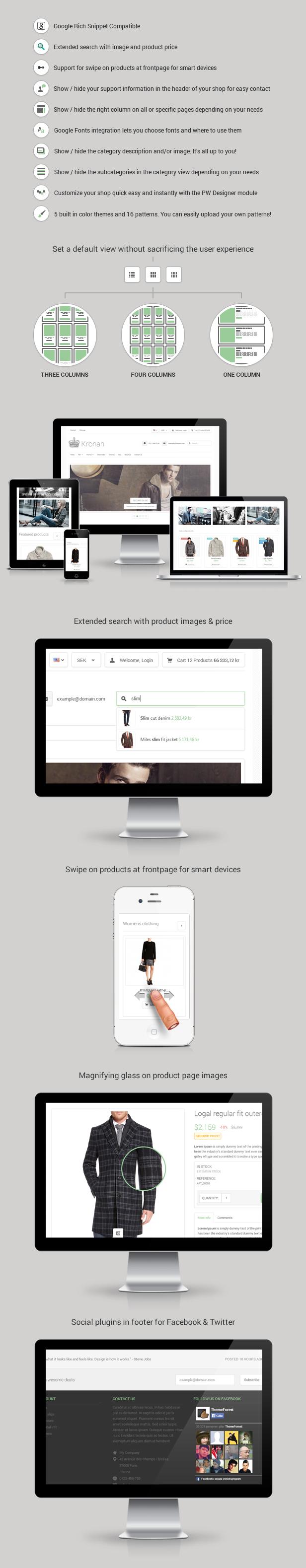 Kronan - Responsive PrestaShop Theme